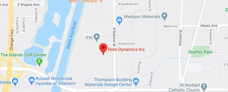 Roto Dynamic Location and Map